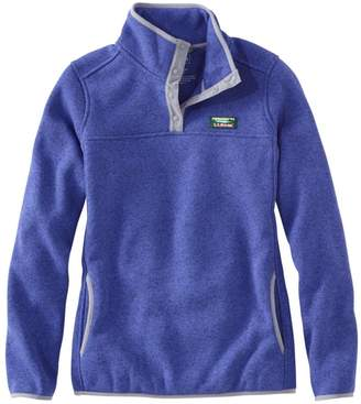 L.L. Bean Women's L.L.Bean Sweater Fleece Pullover