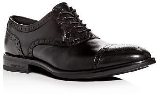 Kenneth Cole Men's Futurepod Leather Cap-Toe Oxfords