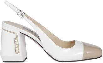 44323117619 Prada Block Heel Pumps - ShopStyle