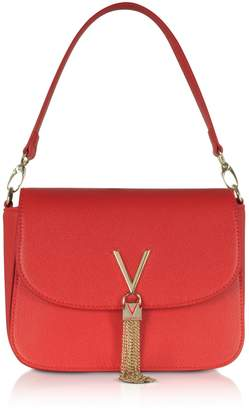 Mario Valentino Valentino by Lizard Embossed Eco Leather Divina Top Handle Bag