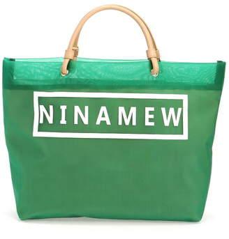 Nina Mew (ニーナ ミュウ) - nina mew メッシュベーチBAG ニーナミュウ バッグ