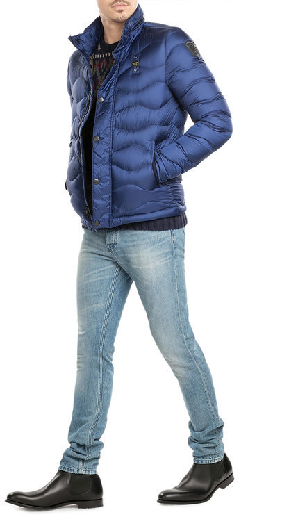 Blauer Blauer Quilted Down Jacket