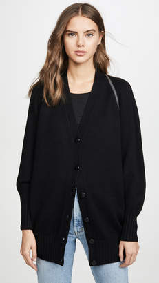 Alexander Wang Zip Shoulder Cardigan