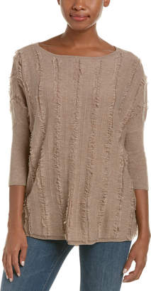 Ella Moss Pullover Wool-Blend Sweater