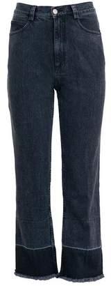 Rachel Comey Slim Legion Jeans - Washed Black