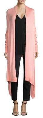 Donna Karan Cozy Long-Sleeve Duster Cardigan