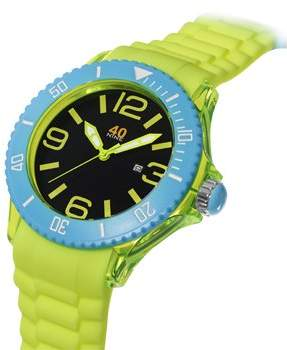 40Nine Men's 40NINE01/YELLOW Extra Large 50mm Colorful Watch