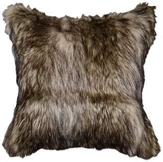 Richmond Spencer Home Decor Faux Fur Throw Pillow