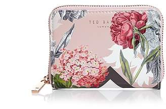 Ted Baker Darla Palace Gardens Small Leather Zip Wallet