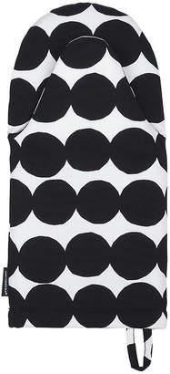 Marimekko Rasymatto Oven Glove - White/Black