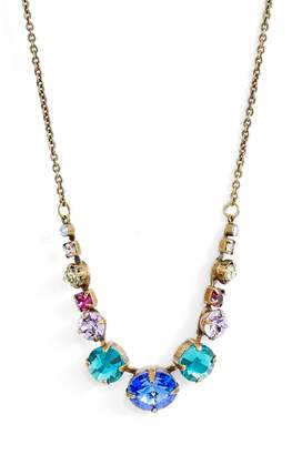 Sorrelli Delicate Round Crystal Necklace
