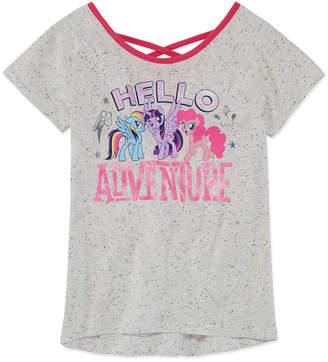My Little Pony Round Neck Short Sleeve Blouse Girls