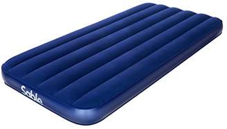 """Sable Air Mattress Inflatable Airbed Blow up Bed for Guest Car Tent Camping Hiking Backpacking with Storage Bag-Height 8"""""""
