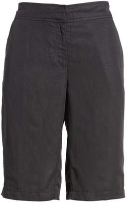 Eileen Fisher Tencel(R) Lyocell & Linen Walking Shorts