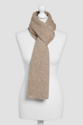Next Womens Oatmeal Cashmere Scarf