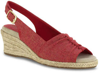 Easy Street Shoes Kindly Espadrille Wedge Sandal - Women's