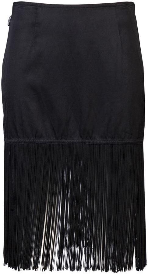 Moschino Vintage fringe skirt