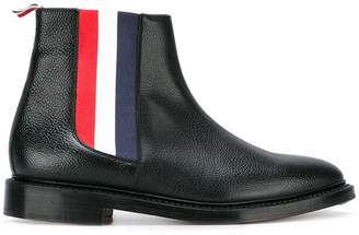 Thom Browne striped detail Chelsea boots