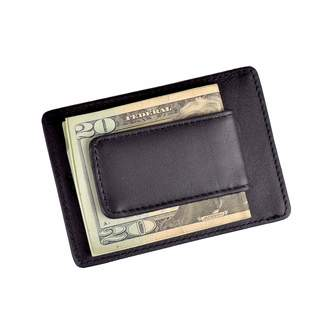 Royce Leather Nappa Prima Magnetic Money Clip Wallet