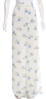 Vilshenko Silk Maxi Skirt
