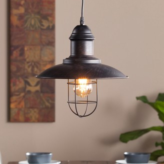 Gunderson Industrial Cage Pendant Lamp