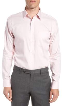 Nordstrom Trim Fit Non-Iron Solid Dress Shirt
