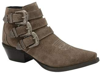 Ravel Womens Leather Ankle Boots - Grey
