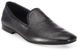 Vince Bray Leather Smoking Loafers $295 thestylecure.com