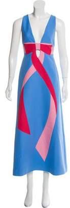 Gucci Bow Midi Dress