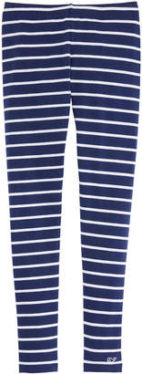 Vineyard Vines Girls Break Stripe All Day Leggings