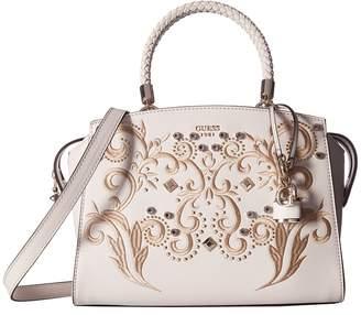 GUESS Alessia Satchel Satchel Handbags