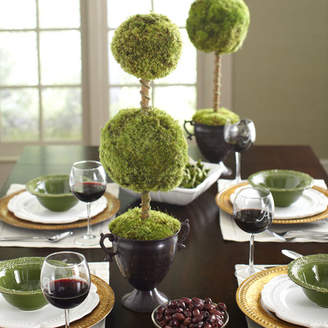Bougainvillea Latham Preserved Moss Double Topiary