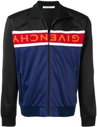 Givenchy logo sports jacket