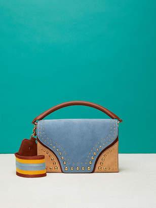 Diane von Furstenberg Bonne Soiree Curved Flap Bag