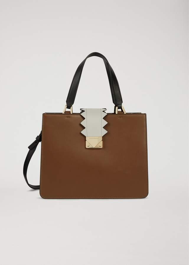 EMPORIO ARMANI handbag with decorative detail