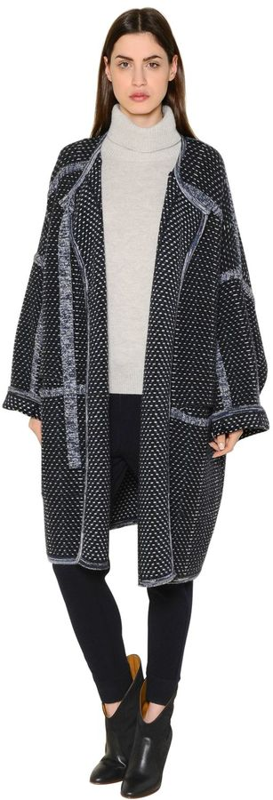 Chloé Wool & Cashmere Knit Coat