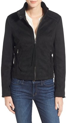 French Connection Fringe Faux Suede Jacket $150 thestylecure.com