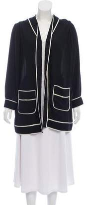 Edward Achour Open Long Sleeve Jacket