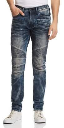 Hudson Blinder Biker Super Slim Fit Jeans in Martino