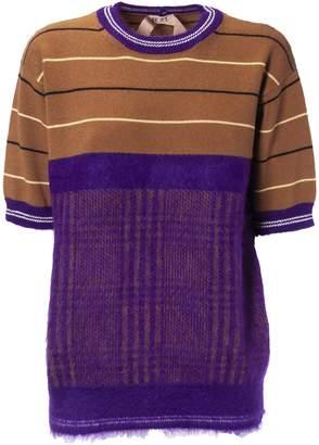N°21 N.21 Houndstooth Sweater