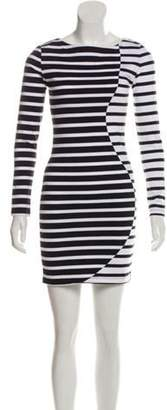 Band Of Outsiders Striped Long Sleeve Dress w/ Tags Black Striped Long Sleeve Dress w/ Tags