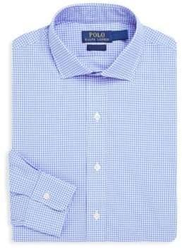 Polo Ralph Lauren Regular-Fit Plaid Poplin Dress Shirt