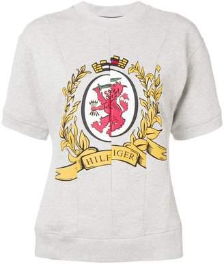 Tommy Hilfiger spliced logo T-shirt