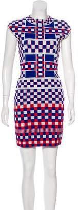 Alexander McQueen Check Mini Dress
