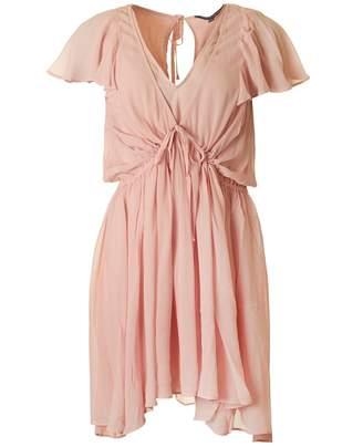 French Connection Brooke Drape Dress