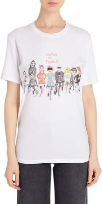 Unfortunate Portrait Wintour De France Tee