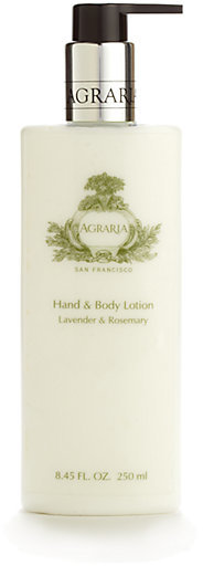 Agraria Lavender & Rosemary Hand & Body Lotion/8.45 oz.