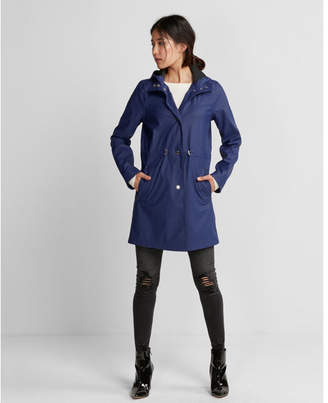 Express drawstring raincoat