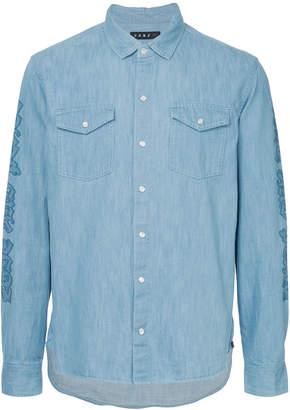 Roar studded pistol denim shirt