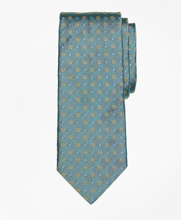 Brooks Brothers  Parquet Flower Tie